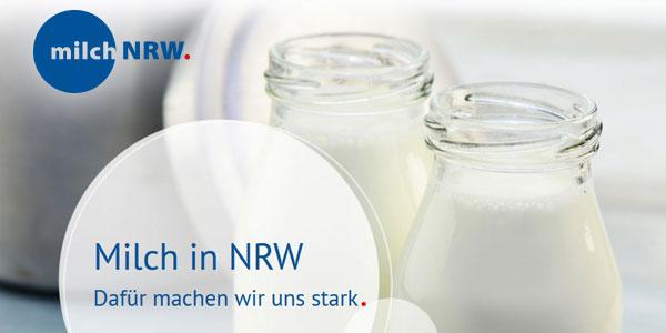 Headerbild Newsletter LV Milch NRW: Milch in NRW - dafür machen wir uns stark.